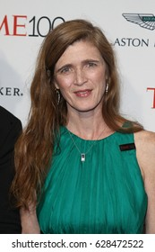 Former United States Ambassador to the United Nations Samantha Power attends the Time 100 Gala at Frederick P. Rose Hall on April 25, 2017 in New York City.