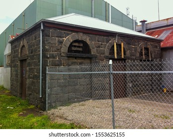 The former Williamtown morgue at Ann Street. It's historically significant as a reminder of when the suburb was a port town.