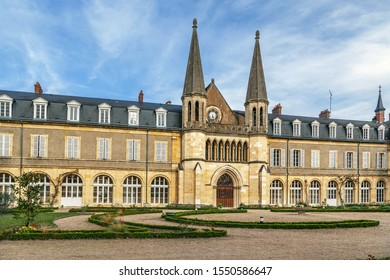 Formerly the Saint-Gildard abbey is a pilgrimage site around Saint Bernadette in Nevers, France