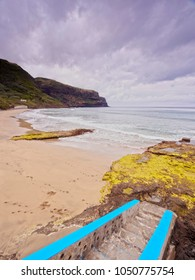 Formosa Beach, Praia, Santa Maria Island, Azores, Portugal