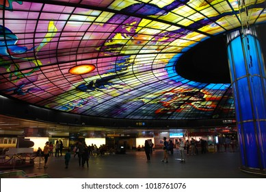 Formosa Boulevard, one of the most beautiful metro stations in the world, Kaohsiung, Taiwan