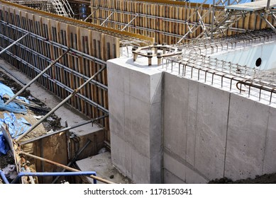 Formwork construction; shuttering for concrete