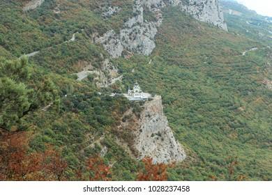 Foros Church in the Crimean Mountains