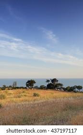 Foros sea landscape (Ukraine, Crimea - 2016)