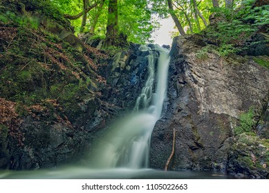 The Forsakar waterfall and nature reserve is situated in the north-eastern part of the Skane province of Sweden, in the Kristianstad municipality near the village of Degeberga.