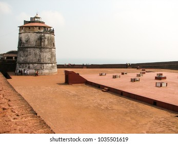 Fort Aguada and its lighthouse
