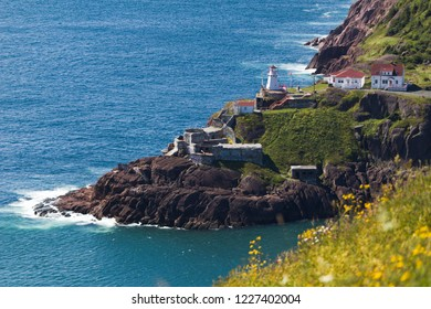 Fort Amherst from Signal Hill in St. John's Newfoundland