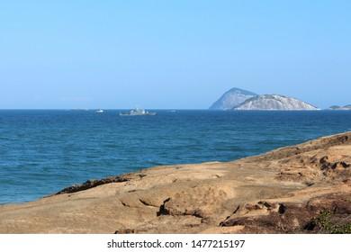 Fort Beach Sea Copacabana - Rio de Janeiro - Brazil