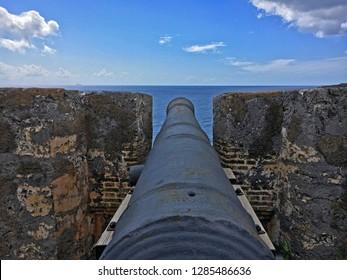 Fort Beekenburg canon Curacao