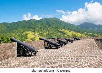 The fort at Brimstone Hill, Basseterre, St. Kitts, Caribbean