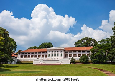 Fort Canning is a small hill slightly more than 60 metres high in the southeast portion of Singapore.