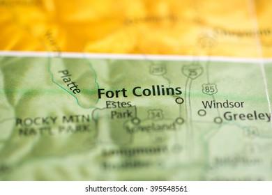Fort Collins. Colorado. USA