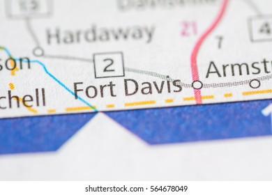 Fort Davis. Alabama. USA