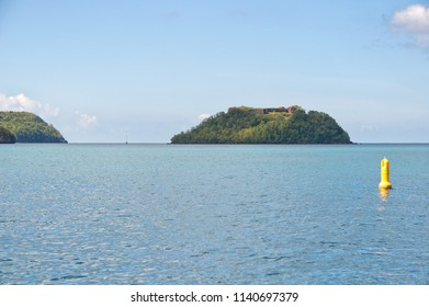 Fort de France bay - Tropical island - Caribbean Sea - Martinique
