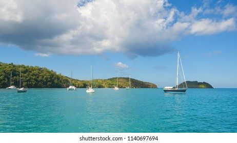 Fort de France bay - Tropical island - Caribbean Sea - Martinique