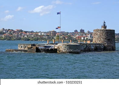 Fort Denison on Pinchgut Island in Sydney Harbour  Sydney New South Wales, Australia