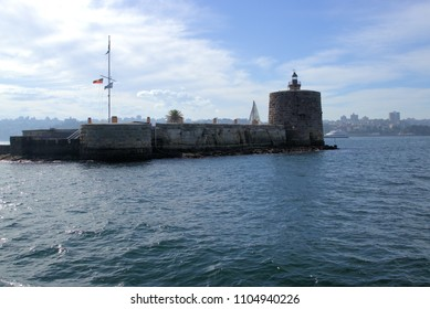 Fort Denison, part of Sydney Harbour National Park, former prison or penal site and defensive facility in New South Wales, Australia as on 27 May 2018. Formerly known as Pinchgut Island