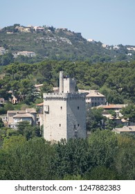 Fort Saint-André, France. The Fort Saint-André is a medieval fortress in the commune of Villeneuve-lès-Avignon in the Gard département of France, dating from the first half of the 14th century.