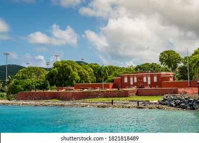 Fort Frederik Museum Historic Site, downtown Frederiksted, St. Croix, US Virgin Islands.