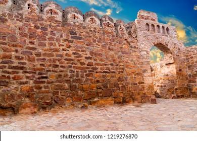 Fort in gandikota, Kadapa, Andhra Pradesh, India