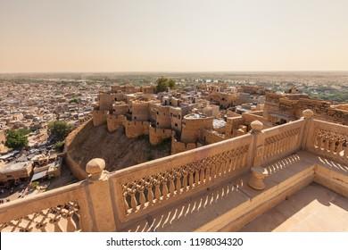 Fort of Jaisalmer - Shutterstock ID 1198034320