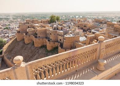 Fort of Jaisalmer - Shutterstock ID 1198034323