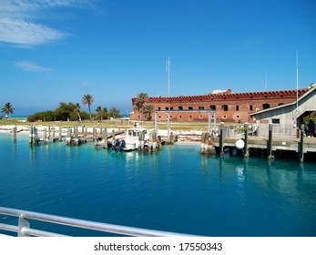 Fort Jefferson, Dry Tortugas, Florida, 70 miles west from Key West
