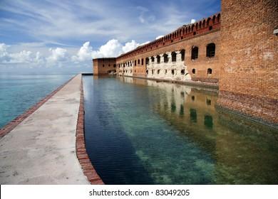 Fort Jefferson, Dry Tortugas National Park, Florida Keys