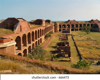 Fort Jefferson National Park, in the Dry Tortugas, 70 miles west of Key West, Florida