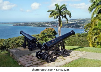 Fort King George overlooking Scarborough in Tobago
