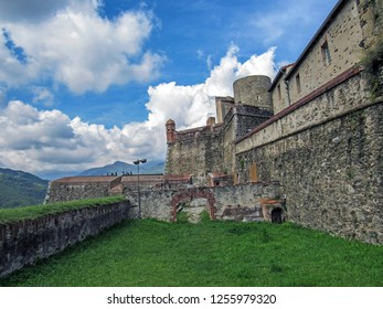 Fort Lagarde, Prats-de-Mollo-la-Preste: The fort was constructed in several stages around an old mediaeval signal tower in the area of Lagardia, Pyrenees-Orientales, Occitanie, southern France, Europe - Shutterstock ID 1255979320