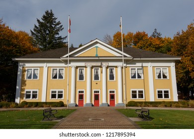 fort Langley, Canada - Circa 2018 - Fort Langley Community Hall