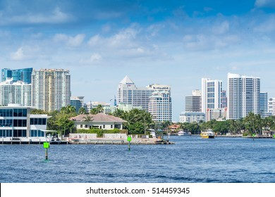 Fort Lauderdale canals, Florida.