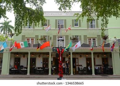 FORT LAUDERDALE, FL, USA - DEC. 25, 2014: Riverside Hotel on Las Olas Boulevard, Fort Lauderdale, Florida, USA.