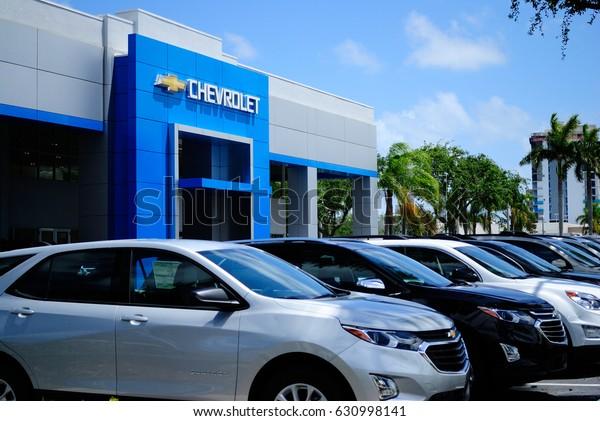 Toyota Dealership Fort Lauderdale >> Fort Lauderdale Florida April 29 2017 Royalty Free Stock Image