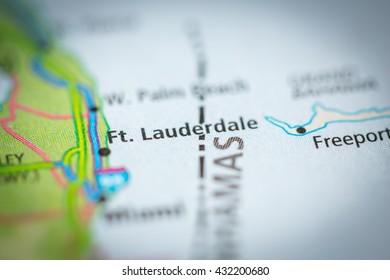Fort Lauderdale Map Florida.Fort Lauderdale Florida Map Images Stock Photos Vectors
