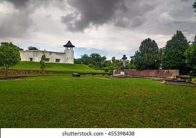 Fort Margherita in Kuching. Sarawak. Malaysia. Borneo