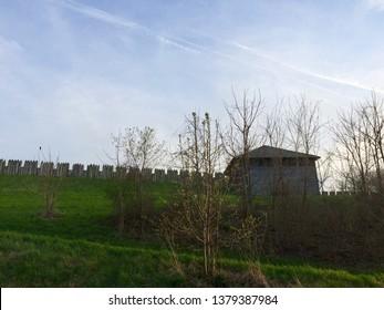 Fort Meigs blockhouse