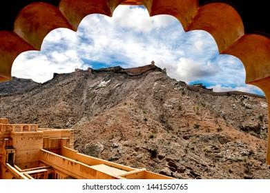 Fort Nahargarh, Jaipur, Rajasthan, India