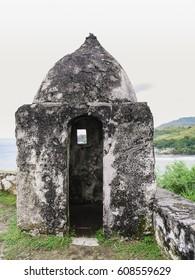 Fort Nuestra Senora de la Soledad at Umatac Bay, Guam Island, USA