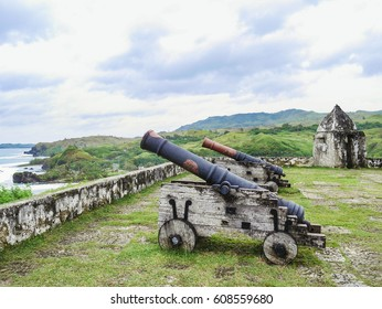 Fort Nuestra Senora de la Soledad in Umatac, Guam Island, USA