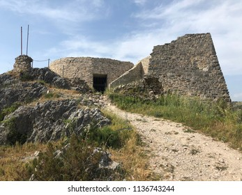 Fort on the hill in Skradin Croatia
