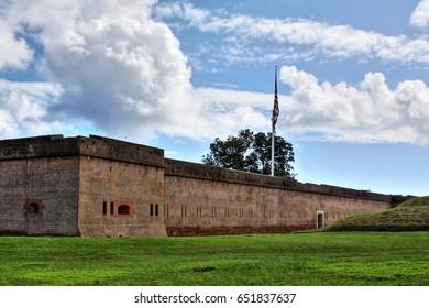 Fort Pulaski National Monument near Savannah Georgia.