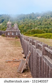 Fort Ross Yard and Perimeter Fence