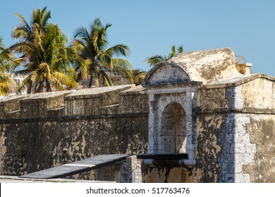 Fort San Juan de Ulua in Veracruz city, Mexico