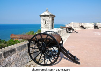 Fort of San Miguel,  Campeche, Yucatan