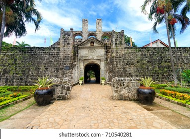 Fort San Pedro, Cebu City, Philippines, 07 July 2017 - Front of Fort San Pedro