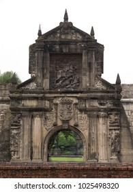Fort Santiago in historical  district of Manila