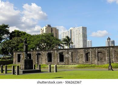 Fort Santiago at  Intramuros in Metro Manila,  Philippines