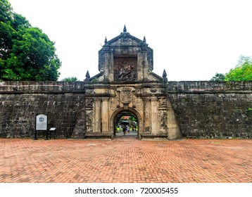 Fort Santiago, Manila, Philippines, 19 August 2017 - Fort Santiago in Manila, Philippines